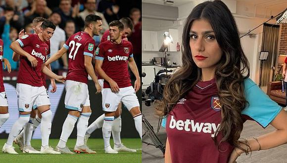 Mia Khalifa y su proyecto que involucra a equipo de la Premier League