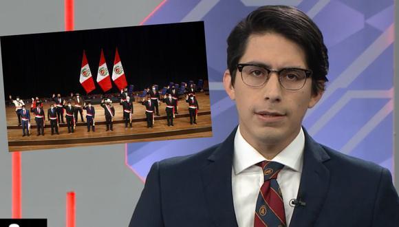 El periodista de América Televisión se refirió al nuevo gabinete ministerial de Pedro Castillo que es liderado por el cuestionado, Guido Bellido.