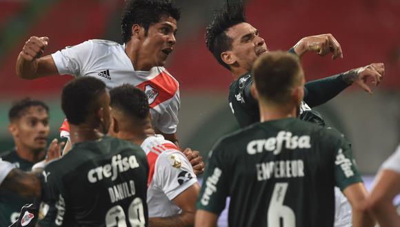 Palmeiras logró la clasificación al partido definitorio del torneo.
