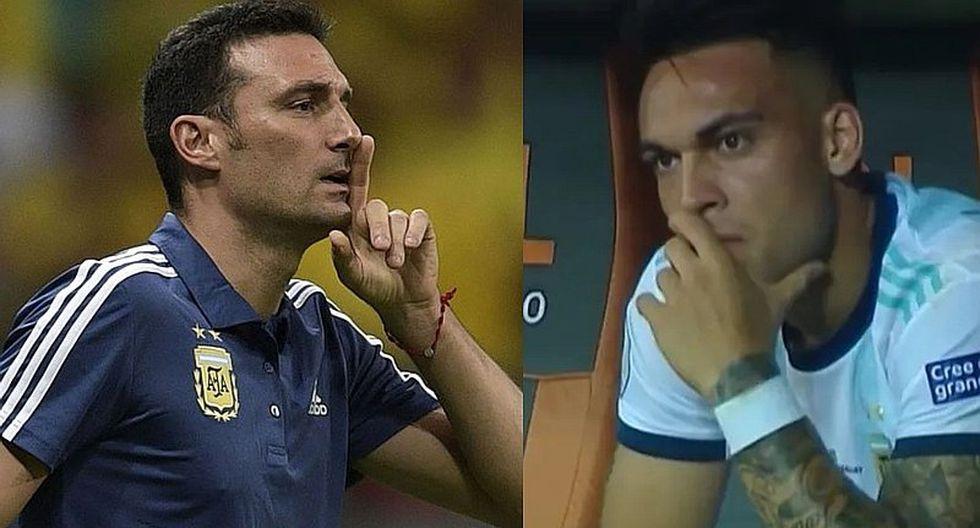 Selección Argentina: Lautaro Martínez contradice a Scaloni y será tachado ante Qatar | VIDEO