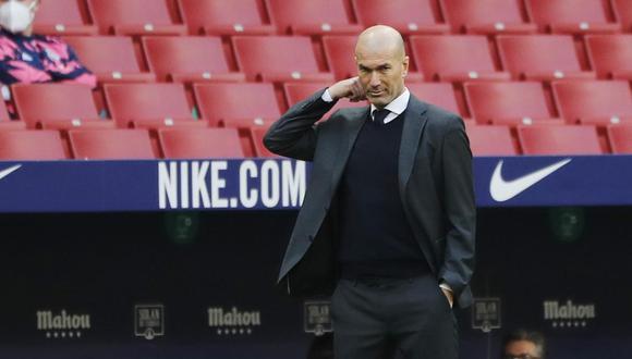 Zinedine Zidane dejó el Real Madrid en el 2018 luego de ganar su tercera Champions League consecutiva. (Foto: Reuters)
