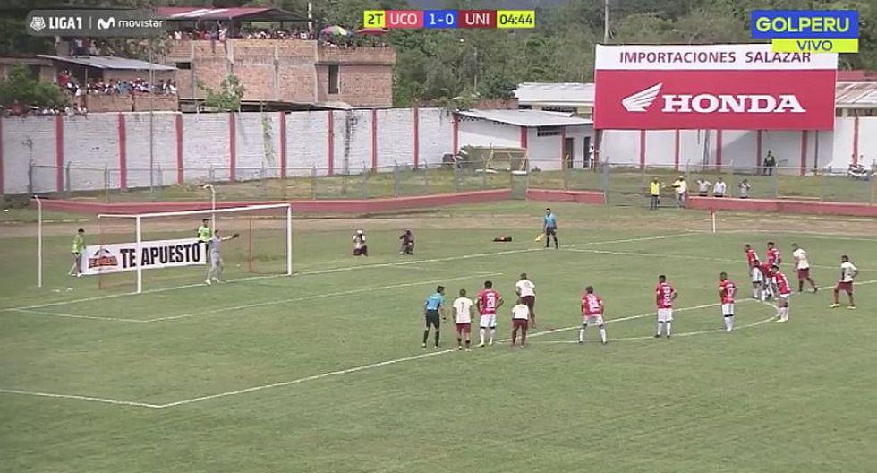 Germán Denis marca el empate para Universitario tras penal [VIDEO]