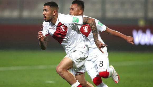 Sergio Peña, Miguel Araujo y Anderson Santamaría no fueron incluidos en la lista de 23 jugadores para el Perú vs. Bolivia.  (Foto: FPF)