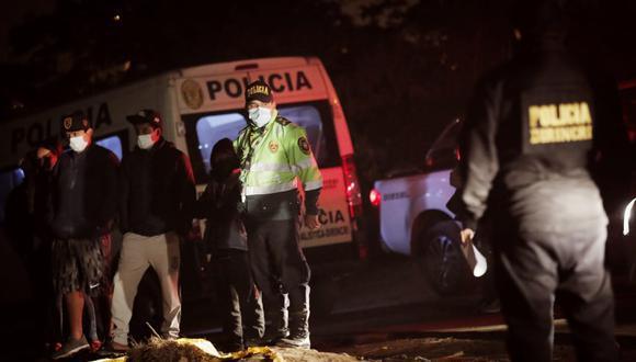 Un hombre fue asesinado en el AA.HH. San Martín en Los Olivos, la noche del martes. (Foto: Referencial/César Grados /@photo.gec