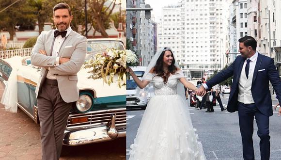 El presentador compartió algunas fotos de la boda en Instagram mientras su hija publicó un conmovedor video de los preparativos de la ceremonia. (Foto: Instagram: @juliangil)