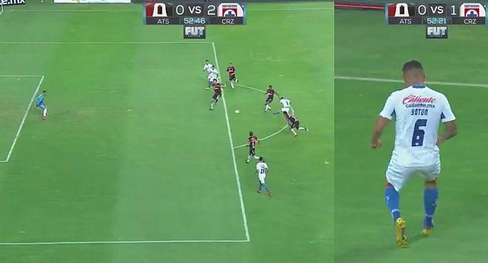 Yotún brilló en la victoria del Cruz Azul con golazo y asistencia [VIDEO]