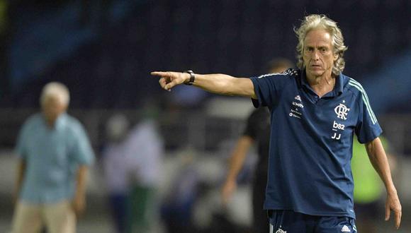 Jorge Jesús fue campeón de la Libertadores 2019 con el 'Fla'. (Foto: AFP)