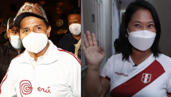 Conoce cuándo se enfrentarán los candidatos Pedro Castillo y Keiko Fujimori en el debate presidencial organizado por el JNE.