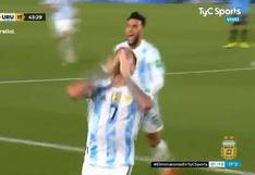 Rodrigo De Paul puso el 2-0 del Argentina vs. Uruguay | VIDEO