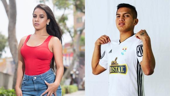 Bailarina Angye Zapata cofirma relación sentimental con futbolista de Sporting Cristal. (Foto: Instagram)
