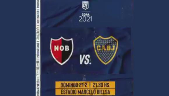 Este domingo, Boca Juniors visita a Newells en el estadio Marcelo Bielsa por la fecha 2 de la Copa de la Liga Profesional de Argentina
