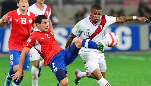 Selección de Chile: Eugenio Mena se perdería el partido contra Perú