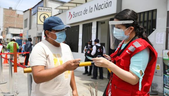La billetera digital permite que el beneficiario pueda hacer uso del dinero directamente desde el celular de manera fácil, rápida y segura (Foto: Andina)