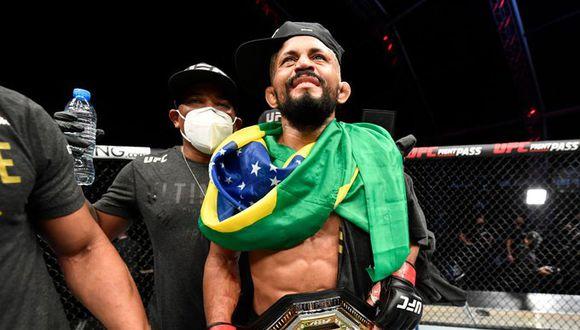 Figueiredo se quedó con el cinturón que Henry Cejudo dejó vacante. (Foto: UFC)