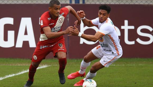 Universitario y Ayacucho FC chocaron en el Iván Elías Moreno por la Fase 2 de Liga 1.   Foto: GEC