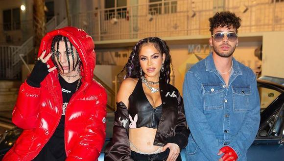 """Natti Natasha se une a Prince Royce y Khea para lanzar el remix de """"Ayer me llamó mi ex"""". (Foto: @khea)"""