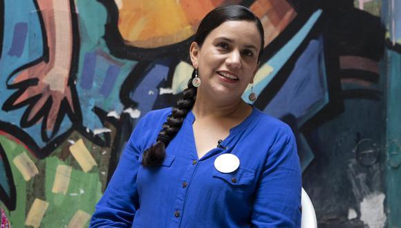 """Mendoza señaló su campaña y partido siempre ha """"sido objeto de estigmatización y tergiversación"""" por sus propuestas. (Foto: Eduardo Cavero / GEC)"""