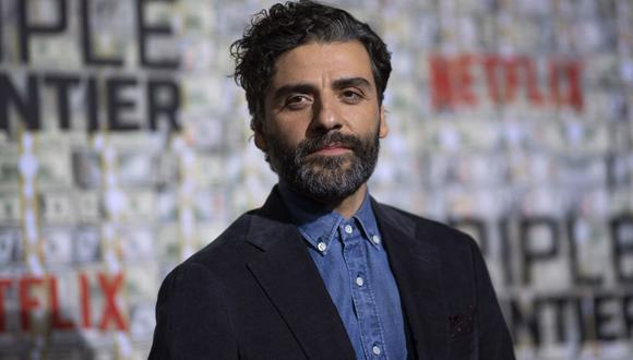 """Actor Oscar Isaac arrives for the world premiere of """"Triple Frontier"""" on March 3, 2019 in New York City. - The movie will be released in theatres on March 6. (Photo by Johannes EISELE / AFP)"""