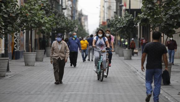 La nueva convivencia social forma parte de la ampliación del Estado de Emergencia Nacional donde también se dispone la cuarentena focalizada. (Foto: Diana Marcelo/GEC)