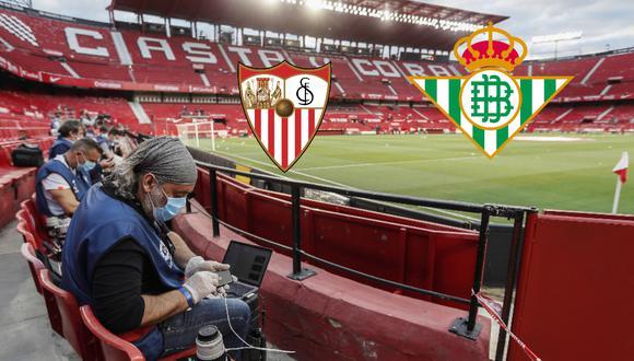 Sevilla y Betis abrieron el reinicio de LaLiga Santander en España y aquí te mostramos los goles y mejores jugadas que dejó el derbi sevillano disputado en el Sánchez Pizjuán