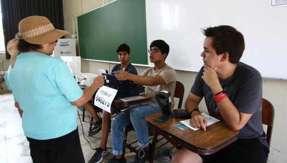 La ONPE realizó el sorteo para elegir miembros de mesa. Los elegidos están sujetos a un periodo de tachas de tres días.