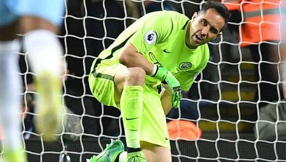 Manchester City anuncia al reemplazante del lesionado Claudio Bravo