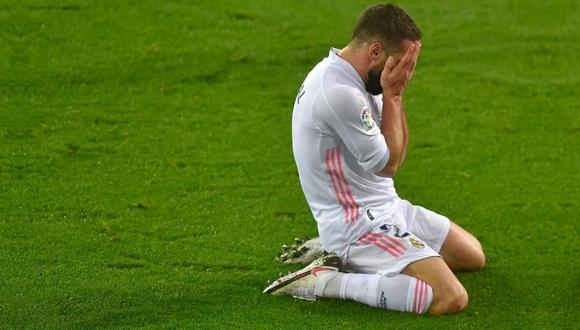 Dani Carvajal se pierde semifinal de Supercopa de España (Foto: AFP)