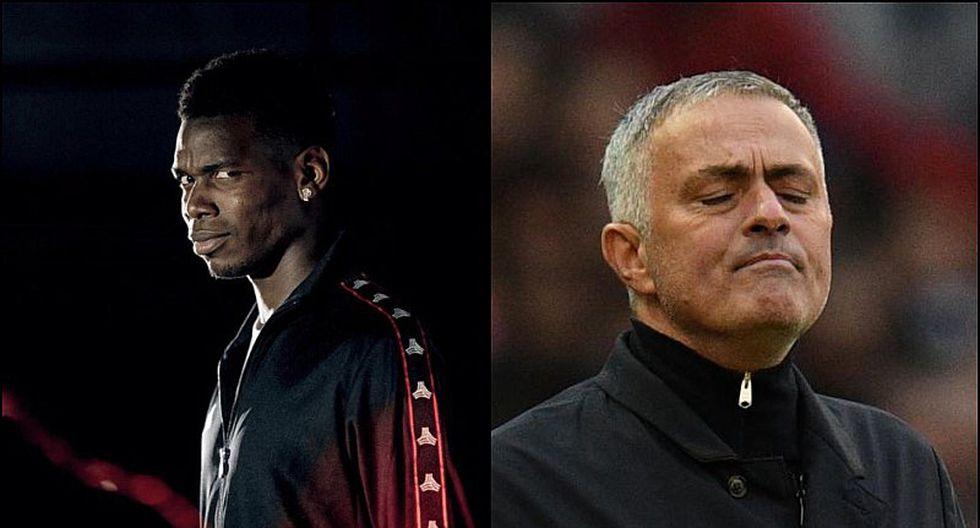 El polémico gesto de Paul Pogba tras el despido a José Mourinho