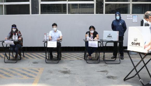 Los miembros de mesa de las Elecciones 2021 que cumplan su labor recibirán un pago de S/120 soles.  (Foto: Andina)