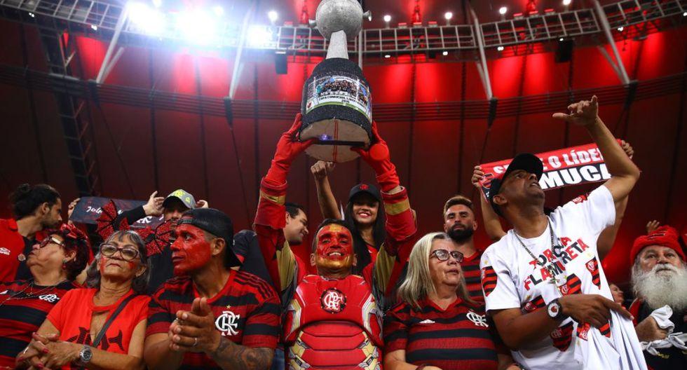 Joao es un hincha de Flamengo que arribó a Lima para ver la gran final de la Copa Libertadores 2019 ante River Plate