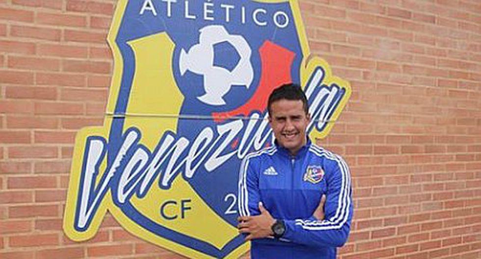 Atlético Venezuela oficializa fichaje de Víctor Rossel [FOTO]