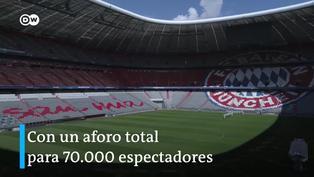 Allianz Arena, uno de los estadio de la Eurocopa 2021