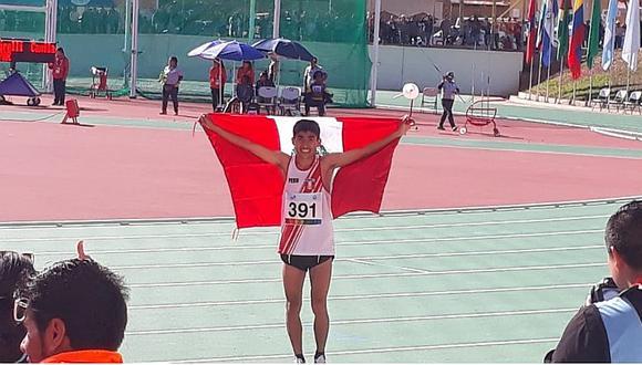 Luis Ostos gana medalla de oro en los Juegos ODESUR