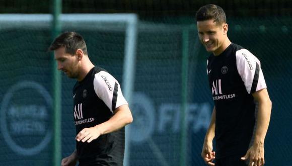 Ander Herrera se refirió al liderazgo de Lionel Messi en PSG. (Foto: AFP)