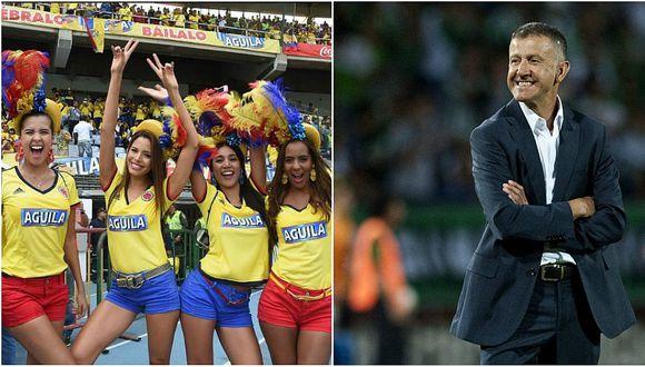 Técnico Juan Carlos Osorio coquetea con Colombia