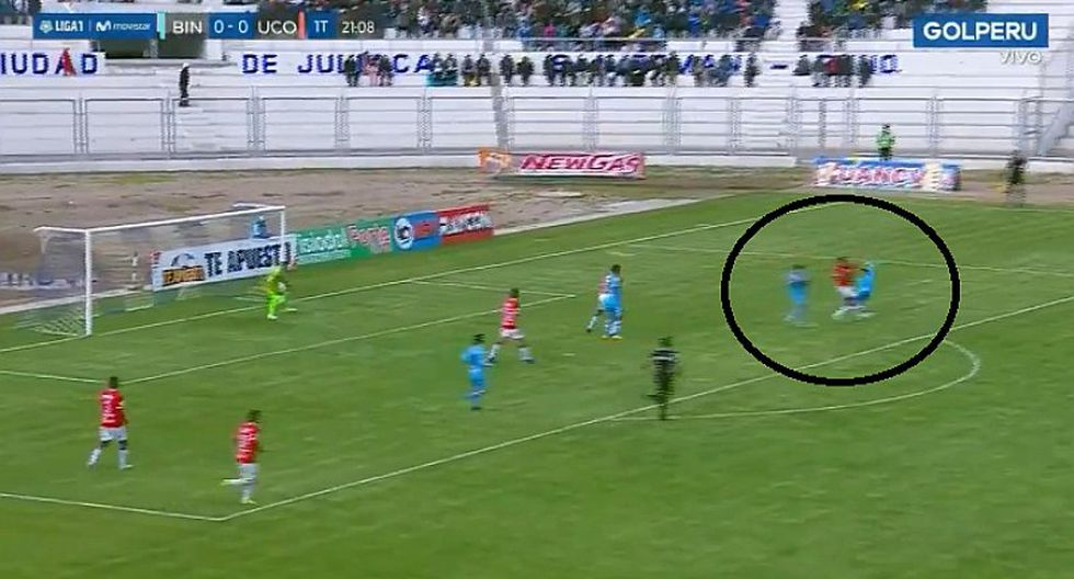 Binacional 1-0 Unión Comercio: Ángel Pérez y el espectacular golazo de tijera   VIDEO
