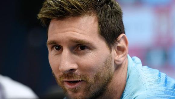 Lionel Messi tiene contrato con Barcelona hasta junio del 2021. (Foto: AFP)
