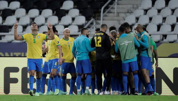 Perú vs. Brasil en vivo   Sigue todas las incidencias de la semifinal de la Copa América en directo desde Río de Janeiro. (Foto: EFE)