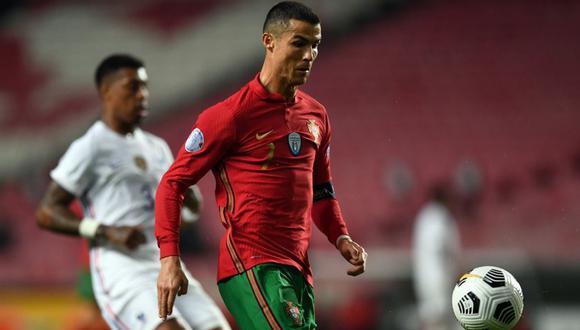 Cristiano Ronaldo entró en la lista de Portugal para la Eurocopa. (Foto: AFP)