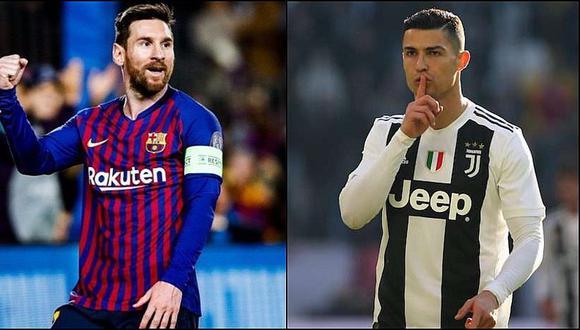 La abismal diferencia entre los sueldos de Cristiano Ronaldo y Messi