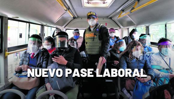 En esta segunda semana de cuarentena total en Lima, Callao y más regiones, las personas deberán tener su pase laboral para poder transitar pasada las 18:00 horas.