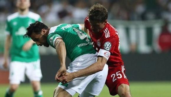 Bayern Múnich vs. Werder Bremen: chocan por la jornada 32 de la Bundesliga. (Foto: AFP)
